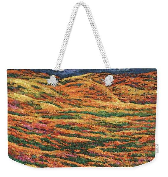 Sea Of Tranquility Weekender Tote Bag