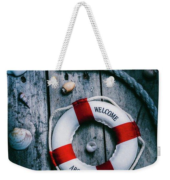 Sea Of Turbulence Weekender Tote Bag