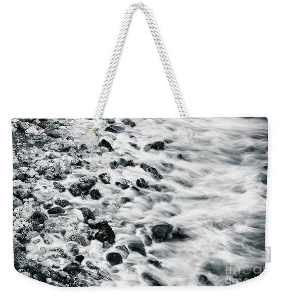 Sea Rocks Weekender Tote Bag