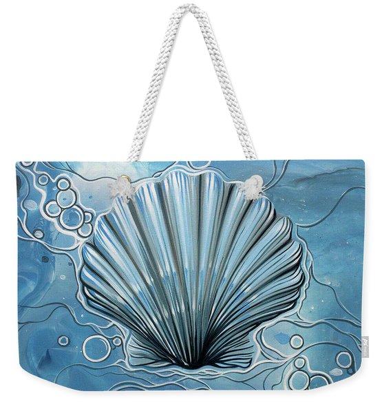 Sea Scalop Weekender Tote Bag