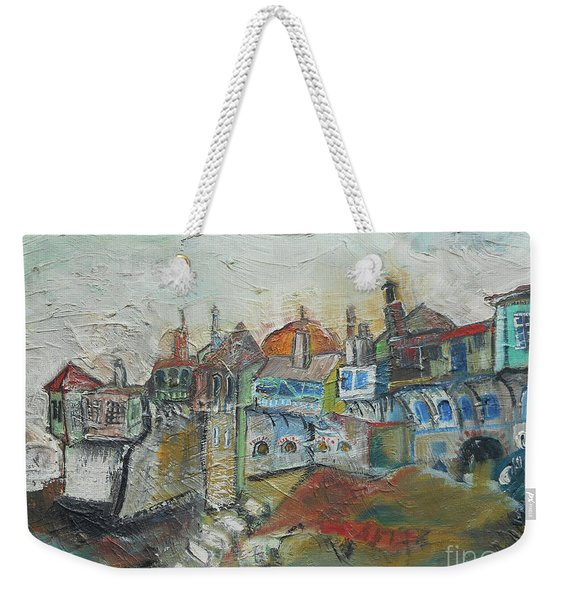 Sea Shore Village Weekender Tote Bag