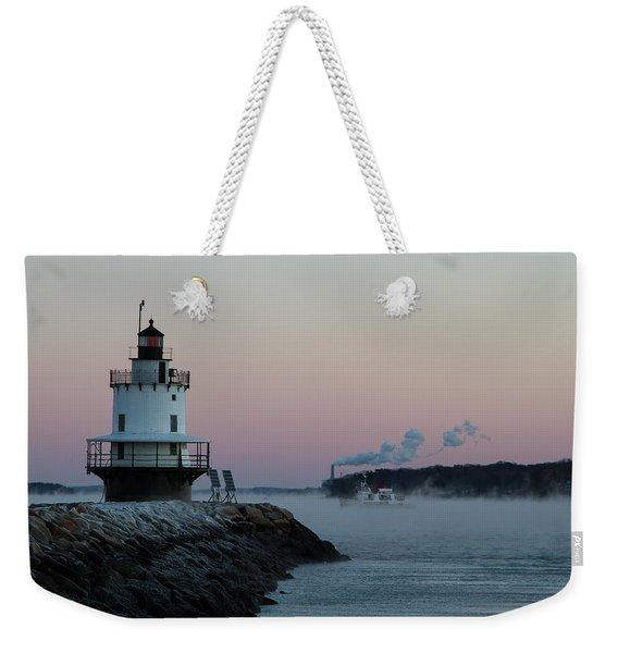 Sea Smoke Weekender Tote Bag