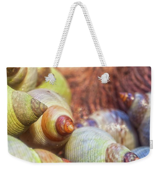 Sea Snails Weekender Tote Bag