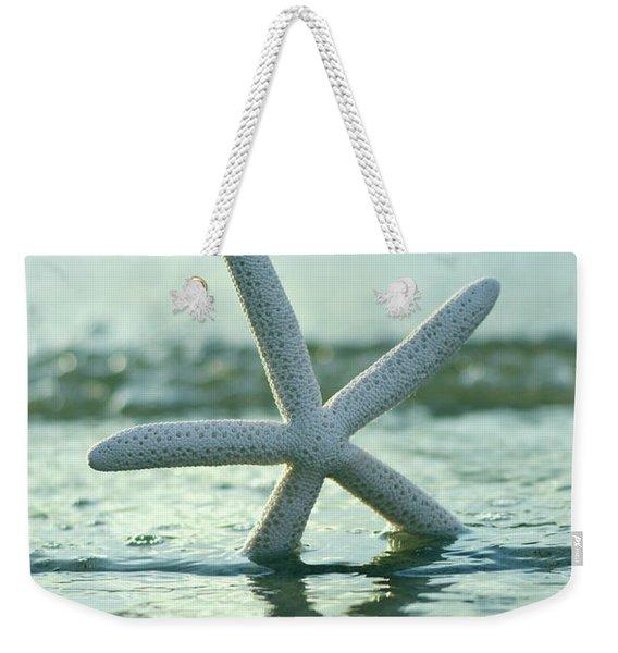 Sea Star Vert Weekender Tote Bag