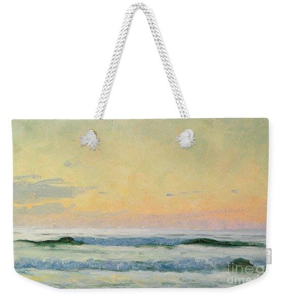 Sea Study Weekender Tote Bag