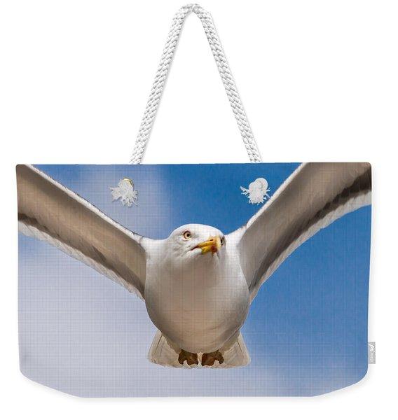 Seabird Closeup Weekender Tote Bag