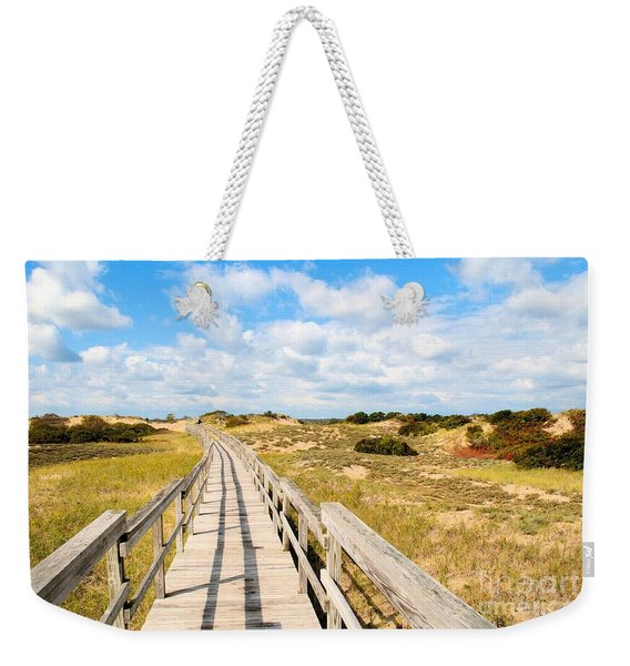 Seabound Boardwalk Weekender Tote Bag
