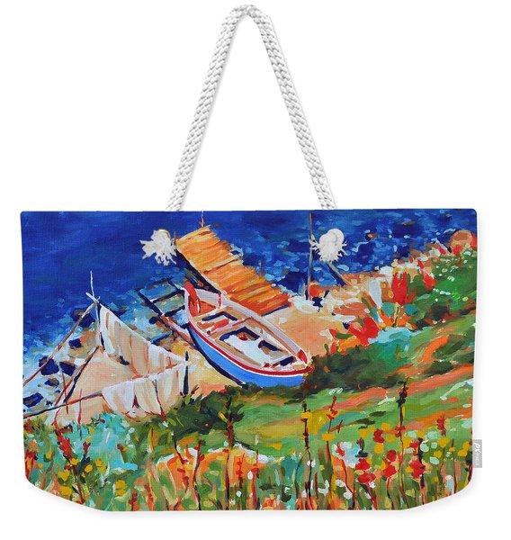 Seacoast Weekender Tote Bag