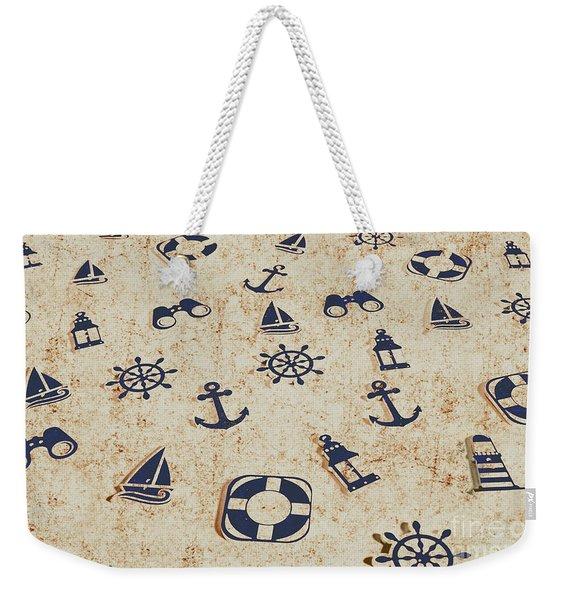 Seafaring Antiques Weekender Tote Bag