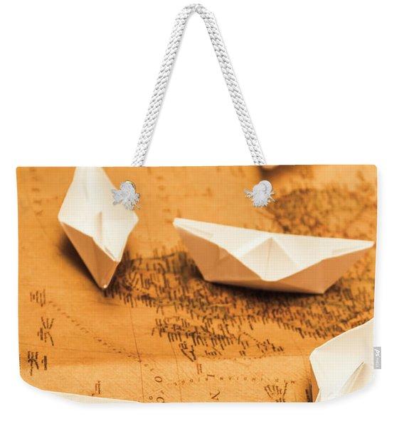 Seafaring The Seven Seas Weekender Tote Bag