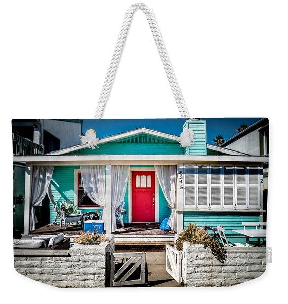 Seafoam Shanty Weekender Tote Bag