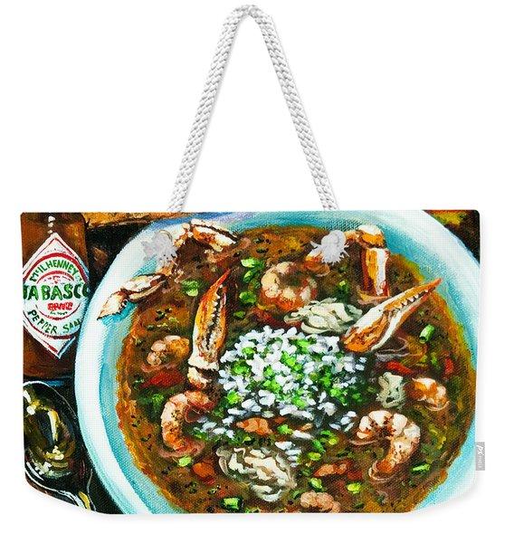Seafood Gumbo Weekender Tote Bag