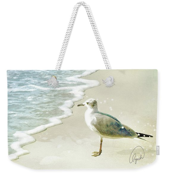 Seagull  Signed Weekender Tote Bag