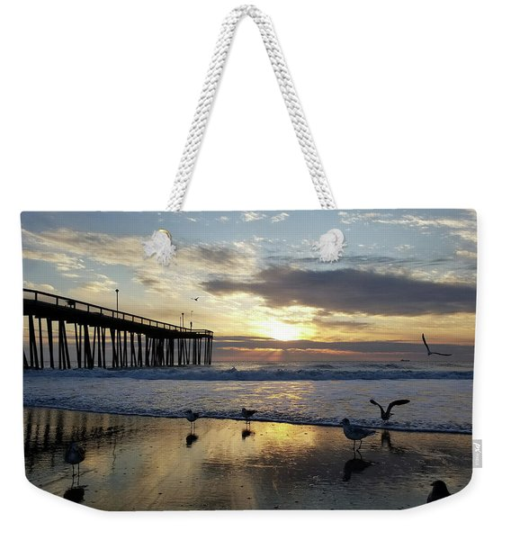 Seagulls And Salty Air Weekender Tote Bag