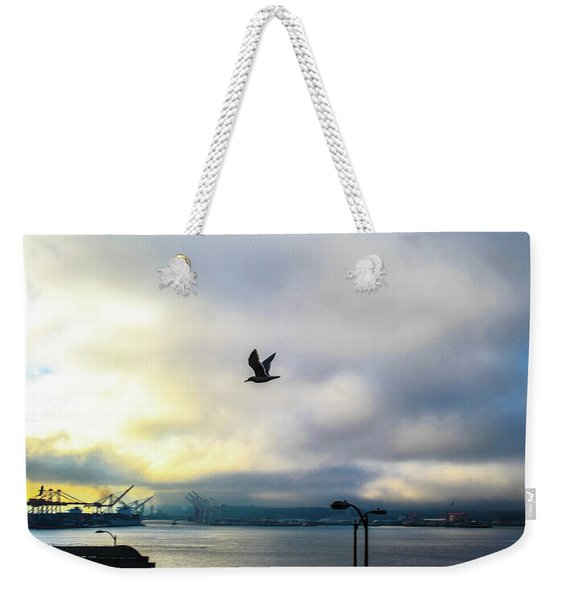 Seahawkin Weekender Tote Bag