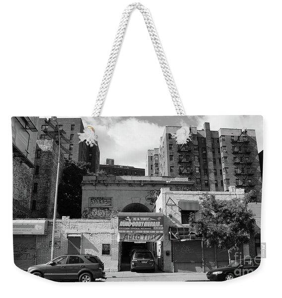 Seaman Drake Arch  Weekender Tote Bag