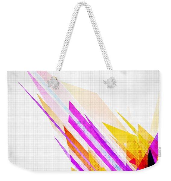 Seamless Honeycomb Pattern Weekender Tote Bag