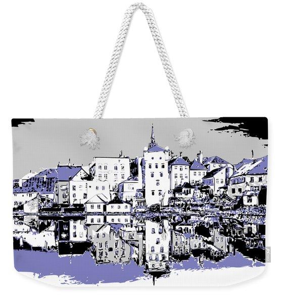 Seaport Mirror Weekender Tote Bag