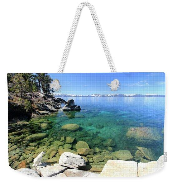 Search Her Depths  Weekender Tote Bag
