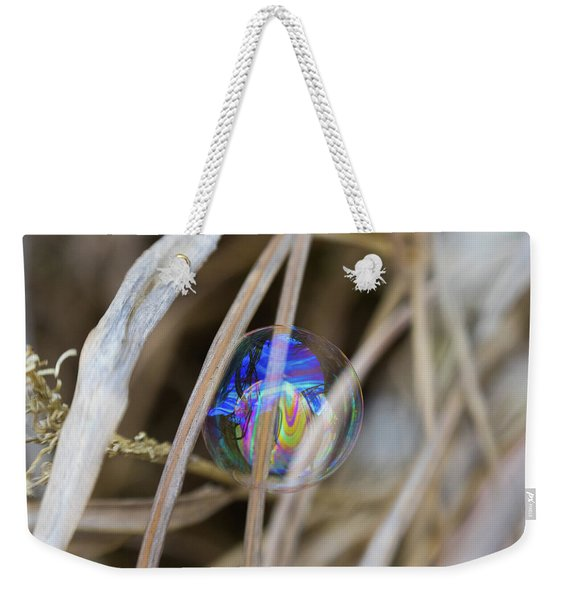 Searching For A New Rainbow Weekender Tote Bag