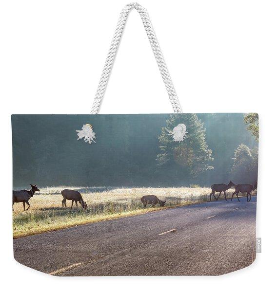 Searching For Greener Grass Weekender Tote Bag