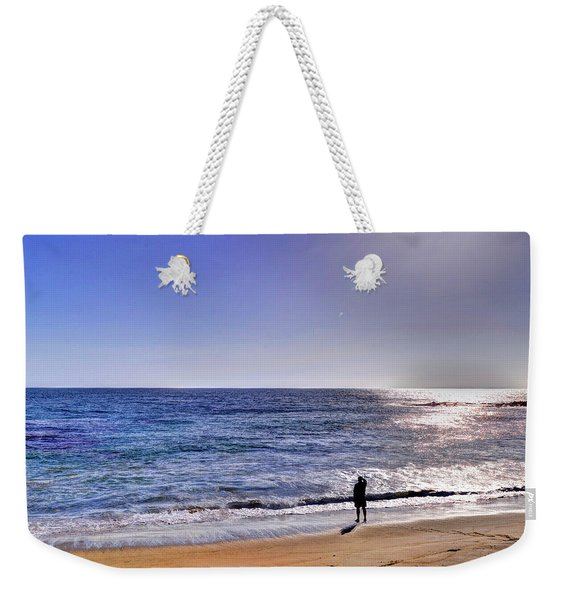 Searching To The Sea Weekender Tote Bag