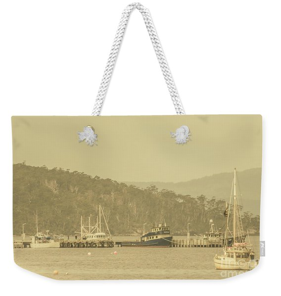 Seascapes Of Old Weekender Tote Bag