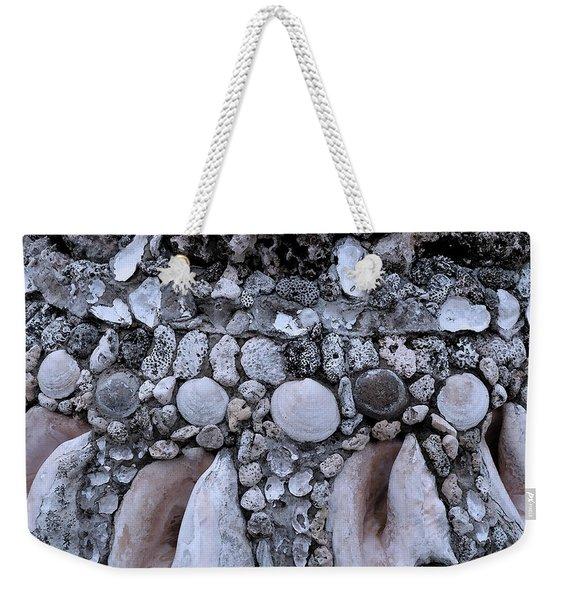 Seashell And Rock Weekender Tote Bag