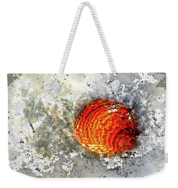 Seashell Art  Weekender Tote Bag