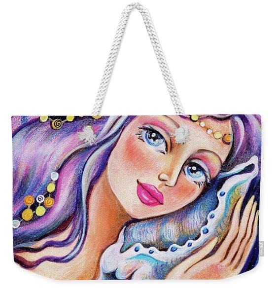 Seashell Reverie Weekender Tote Bag