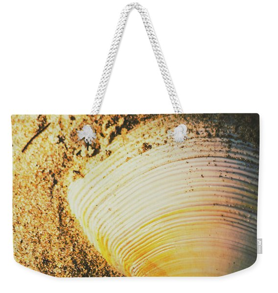 Seashells And Beach Colours Weekender Tote Bag