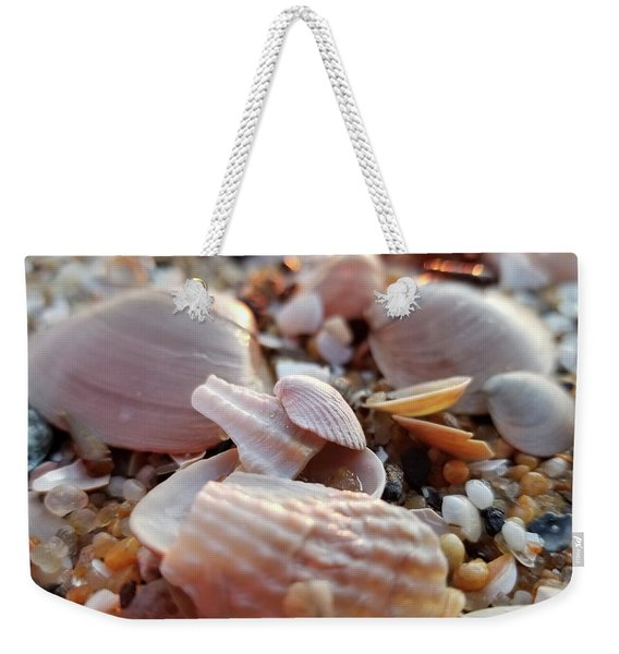 Seashells And Pebbles Weekender Tote Bag