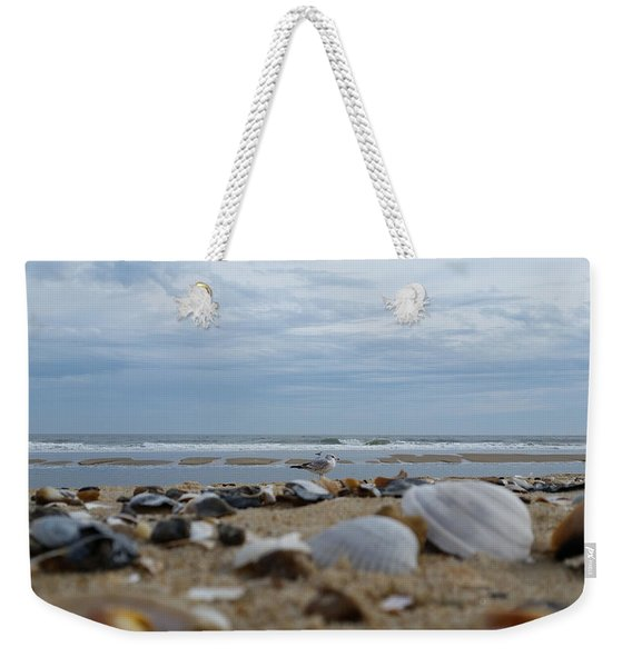 Seashells Seagull Seashore Weekender Tote Bag