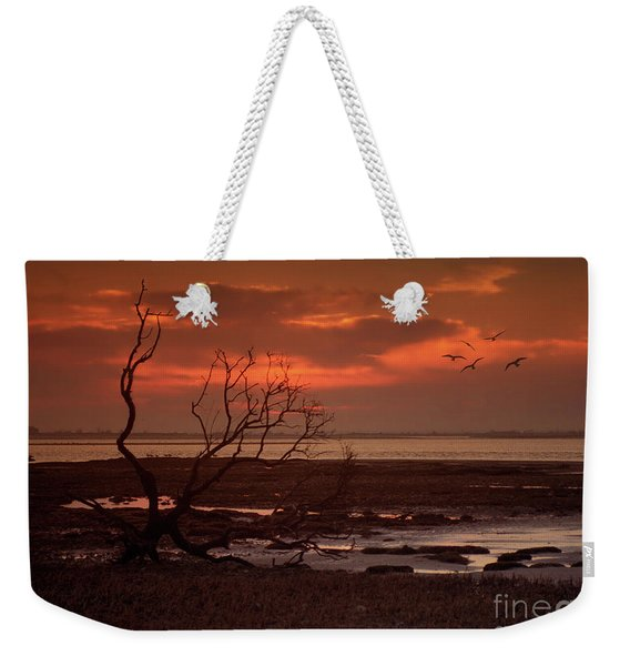 Seashore At Dawn Weekender Tote Bag