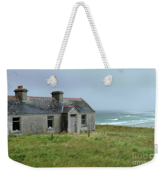 Seaside Cottage Belmullet Weekender Tote Bag