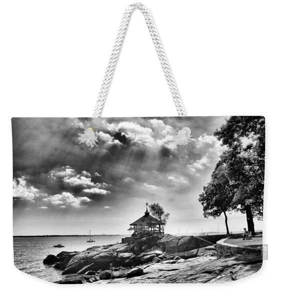 Seaside Gazebo Weekender Tote Bag