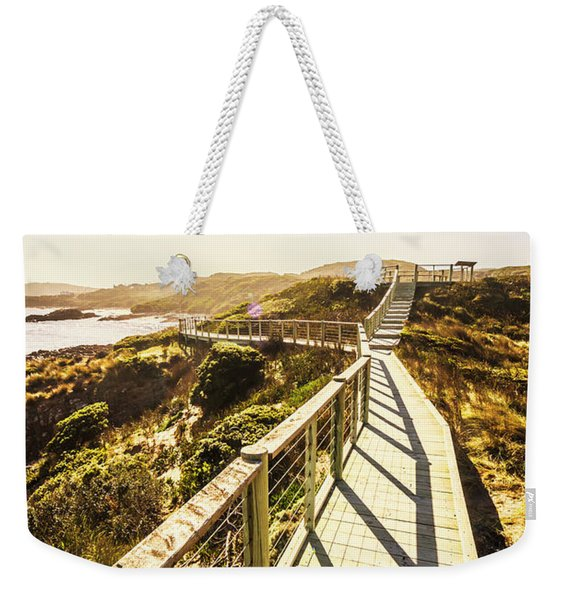 Seaside Perspective Weekender Tote Bag