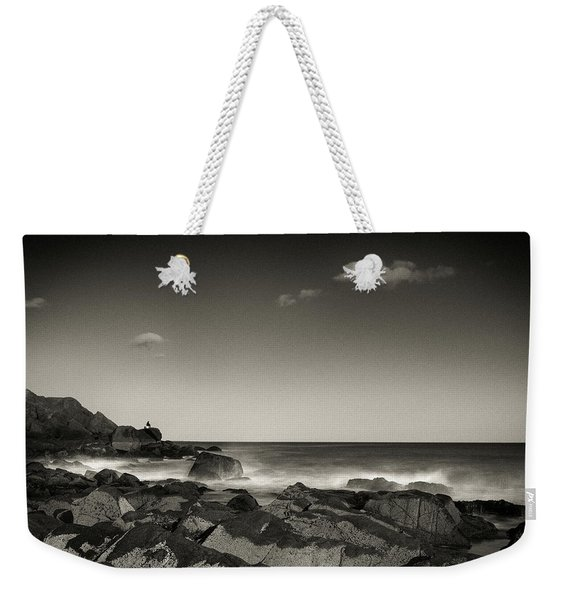 Seaside Solitude Weekender Tote Bag