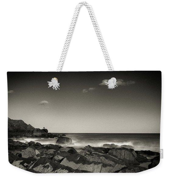 Seaside Solitude Weekender Tote Bag