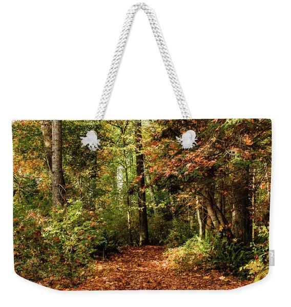 Seasonal Change Weekender Tote Bag