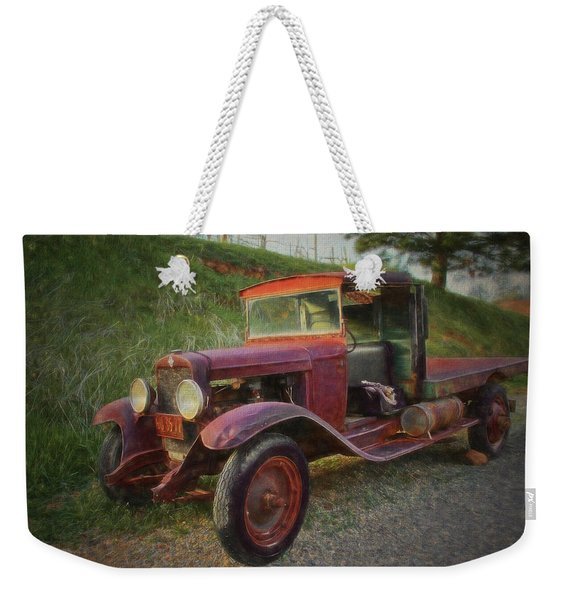 Seasoned Ol' Truck Weekender Tote Bag