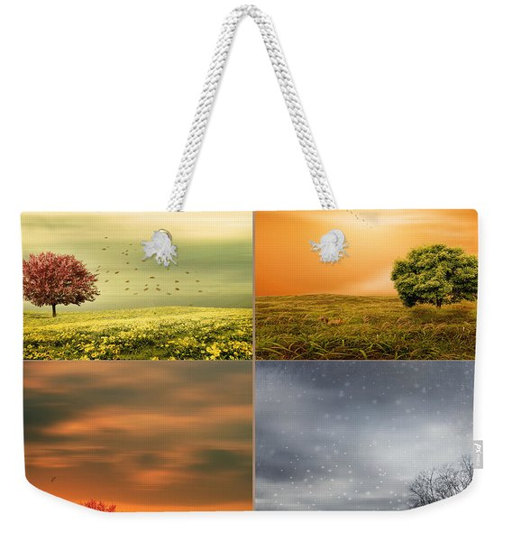 Seasons' Delight Weekender Tote Bag