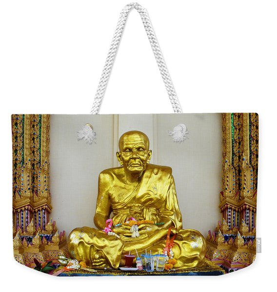 Seated Holy Man At Koh Samui Weekender Tote Bag