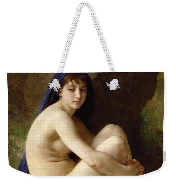 Seated Nude Weekender Tote Bag