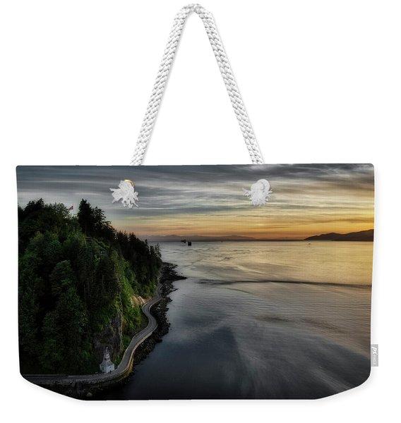Seawall Weekender Tote Bag