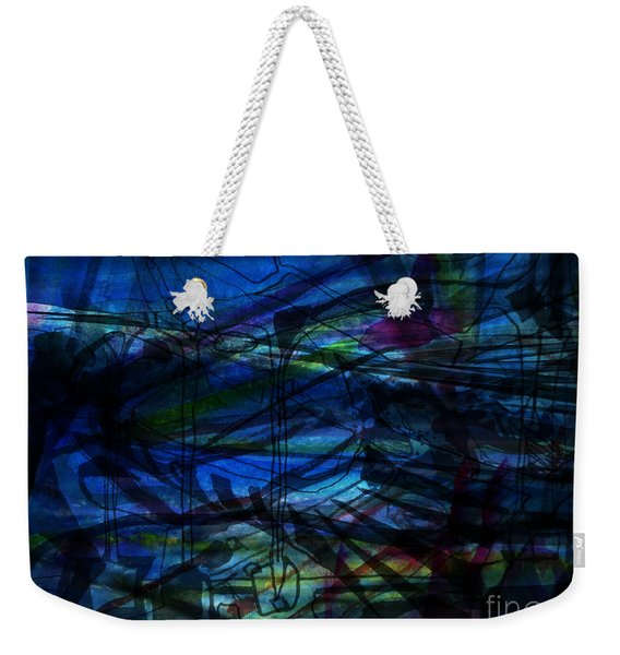 Seaweed And Other Creatures Weekender Tote Bag