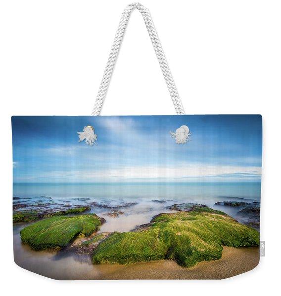 Seaweed Covered. Weekender Tote Bag