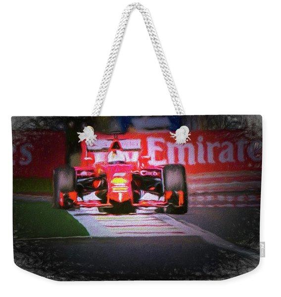 Sebastian Vettel's Ferrari Weekender Tote Bag