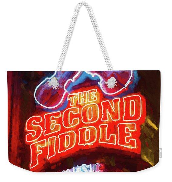 Second Fiddle - Impressionistic Weekender Tote Bag