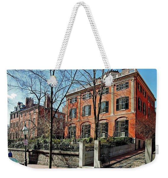 Second Harrison Gray Otis House  Weekender Tote Bag